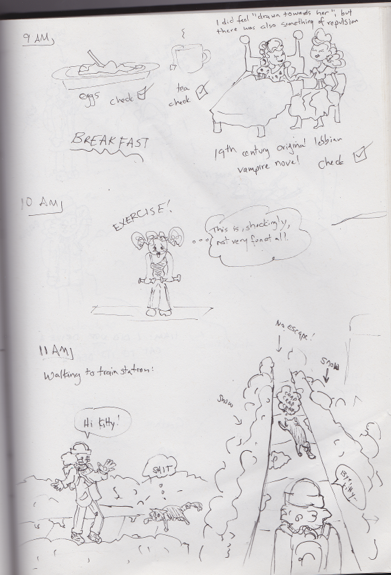 Hourly Comics 2015 2