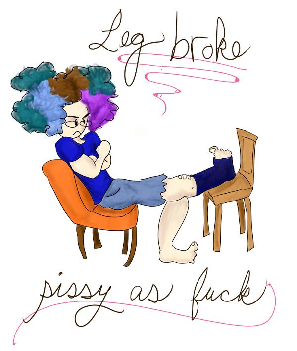 Leg Broke